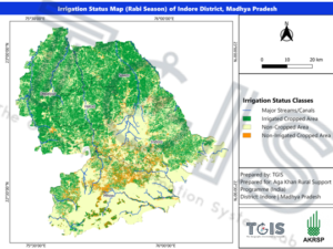 Agriculture-Irrigation status mapping project